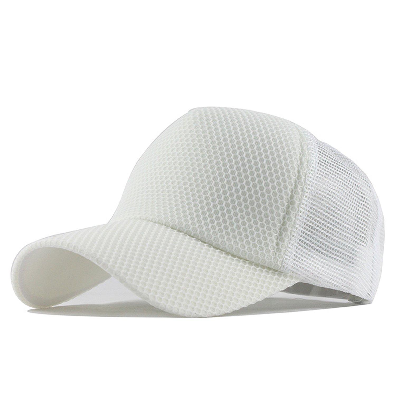 d976dde8 Summer Baseball Cap Embroidery Mesh Cap Hats for Men Women Gorras Hats  Casual Hip Hop Caps Dad Casquette F147 at Amazon Women's Clothing store: