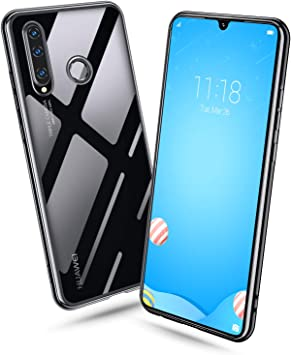 Bewahly Estuche para Huawei P30 Lite, Huawei P30 Lite Carcasa, Estuche Protector Ultra Claro de galvanoplastia Transparente,Funda de Silicona Suave para Huawei P30 Lite- Negro: Amazon.es: Electrónica