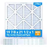 16-3/8x21-1/2x1 Air Filter for Carrier, Bryant and Payne ... on