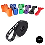 Resistance Band BALFER Premium Latex Exercise Bands Training Assist Pull up Workout Loop Heavy Duty for Stretching Strength Weight Training and Yoga