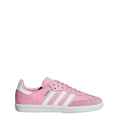 d94d7d2bff4 adidas Originals Samba OG J Light Pink Leather 4.5 M US Big Kid
