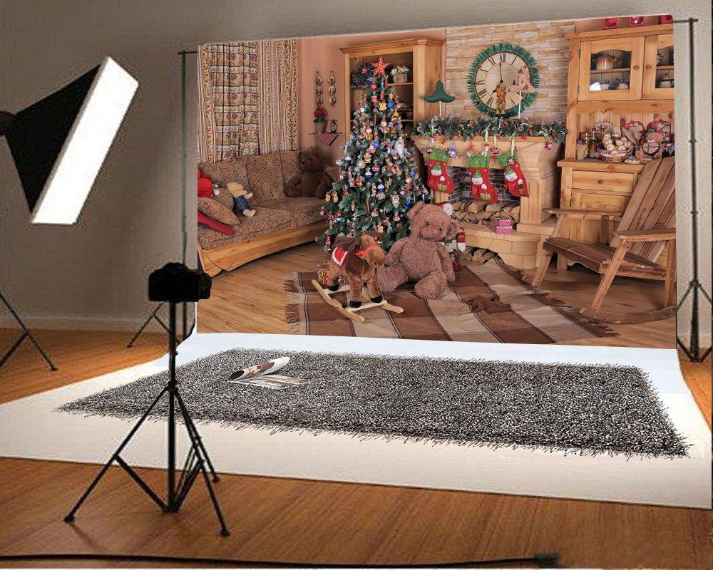 写真撮影背景ビニール10 x 8ft 12 x 8ftシームレスな様々なパターン屋外や屋内クリスマスツリー特別なBackdrop Studio小道具 12x8ft JLBK02507HW 12x8ft 6 B0778FS2VS