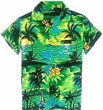 SAITARK Mens Hawaiian Shirt Stag Beach Hawaii Aloha Party Summer Holiday Fancy BP