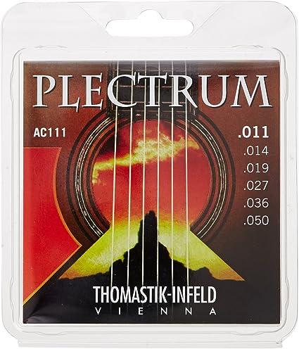 AC111 Thomastik Acoustic Guitar Strings Plectrum Series .011-6 String Set