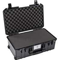 Pelican Air 1535 Case with Foam (2020 Edition with Push Button Latches) - Black