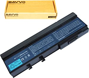 Bavvo 9-Cell Battery Compatible with TravelMate 6292-302G16Mi