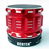 Portable bluetooth speakers,Wireless Mini Bluetooth speakers by Kcrtek with , Built in Hands Free Microphone and Rechargable Battery Support Tf Function Works for Iphone, Ipad Mini, Ipad 4/3/2, Itouch, Blackber