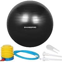 GYMBOPRO Piłka gimnastyczna 25 cm/55 cm/65 cm/75 cm, piłka do jogi, pilatesu, fitnessu, Balance Ball do Core Strength