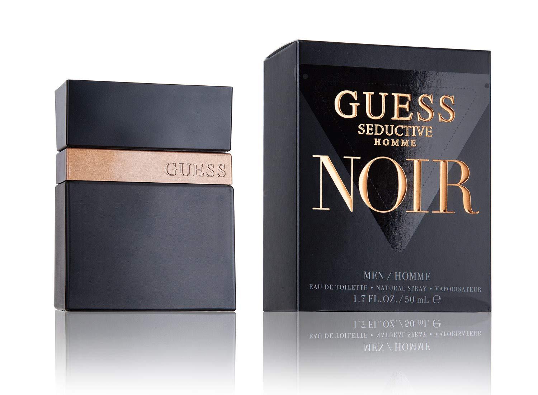 Amazon Com Guess Seductive Homme Noir Cologne Eau De Toilette Spray For Men 3 4 Ounce Beauty