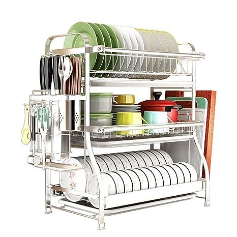 Amazon.com: Estantería de cocina de acero inoxidable ...