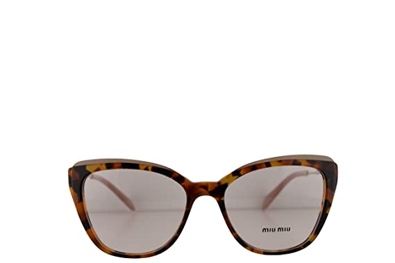 565183831c Image Unavailable. Image not available for. Color  Miu Miu MU02QV Eyeglasses  53-17-140 ...