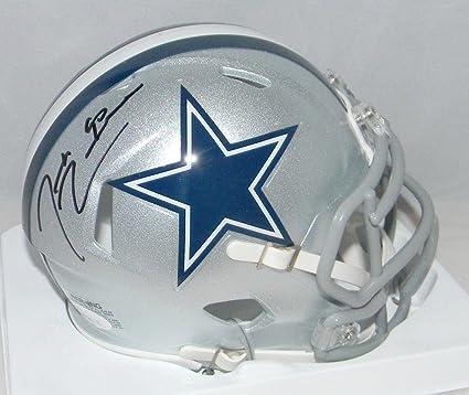 34325c6d1 Demarcus Lawrence Autographed Mini Helmet - Speed - JSA Certified -  Autographed NFL Mini Helmets