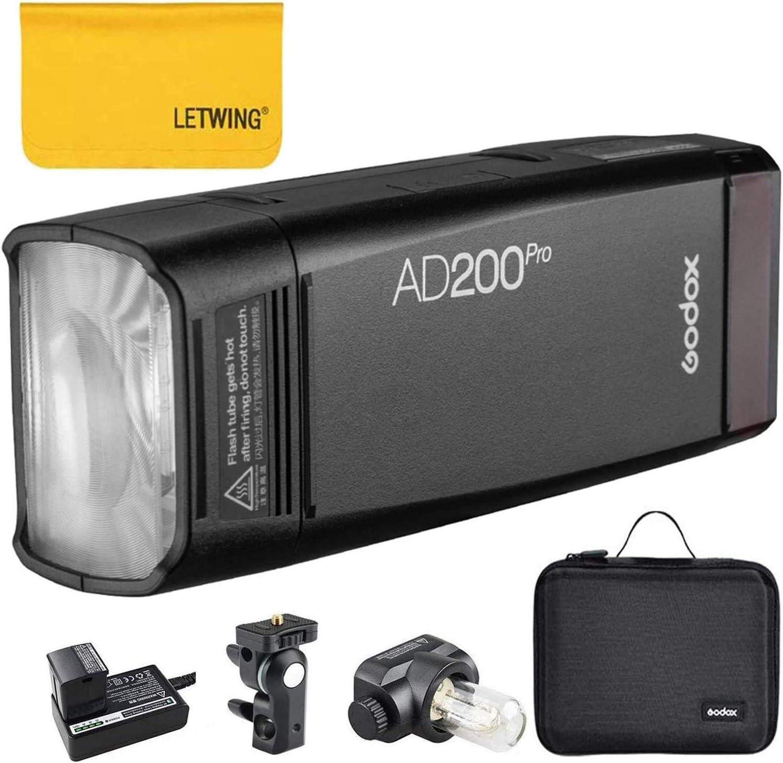 Godox Ad200pro Ad200 Pro 200ws 2 4g Ttl Hss 1 Kamera
