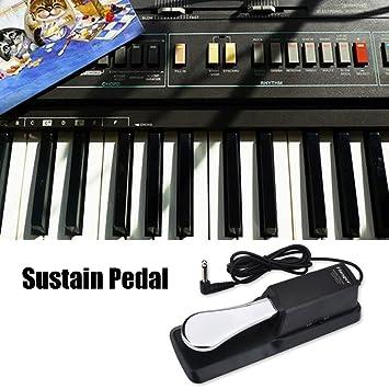 Pedal de Sustain para teclado de Piano Digital Universal Piano Pedal Amortiguador accesorio para Yamaha electrónica