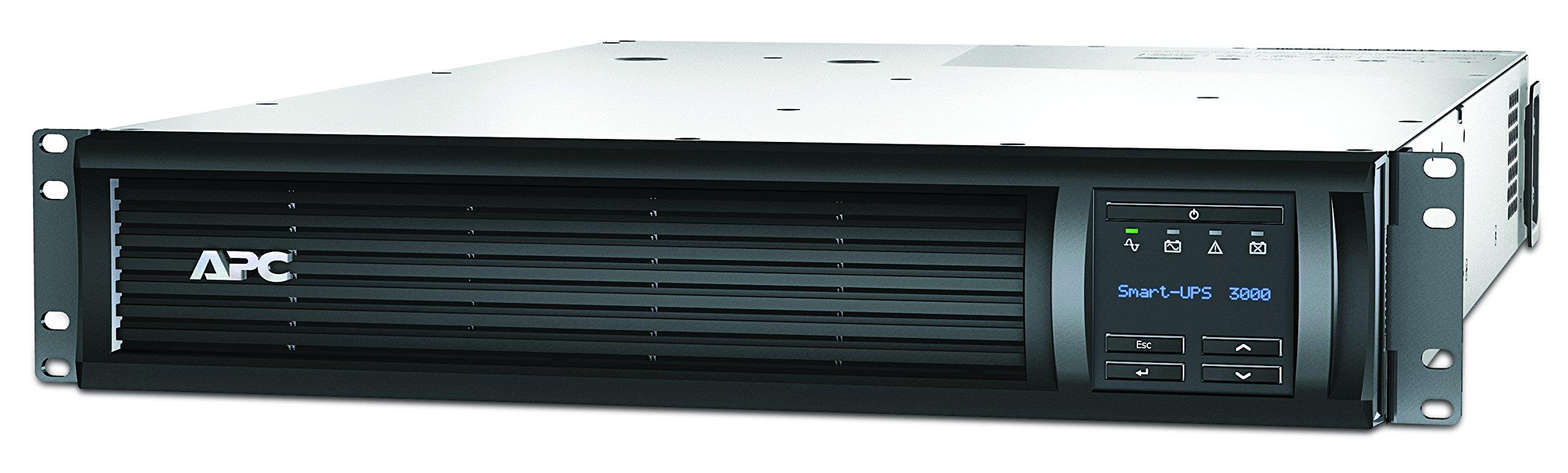 APC 3000VA Smart-UPS with SmartConnect, Pure Sine Wave UPS Battery Backup & Surge Protection, Rackmount UPS (SMT3000RM2UC)