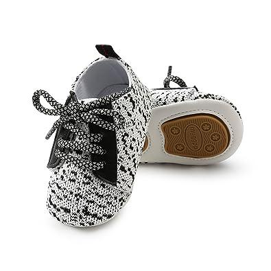 Amazon.com: Meckior - Zapatillas de lona antideslizantes ...