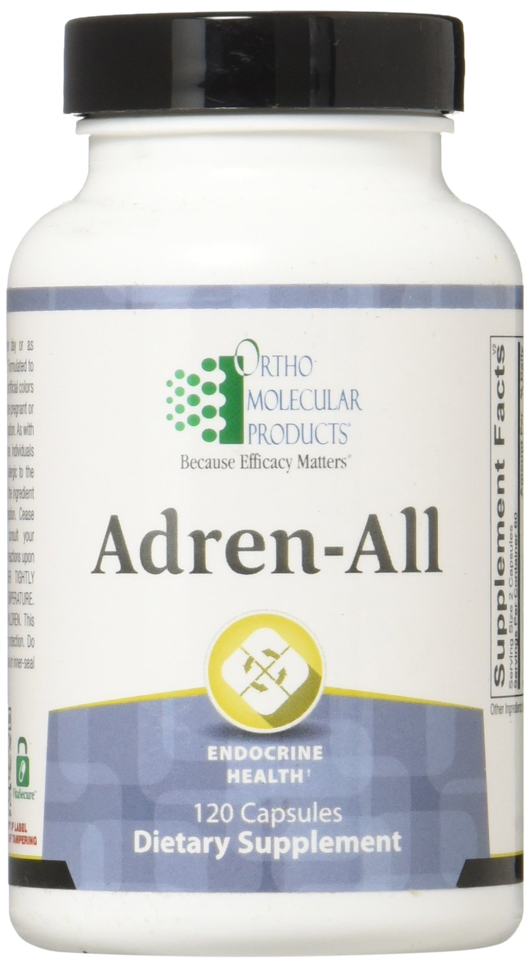 Ortho Molecular Products Adren-All Capsules, 120 Count