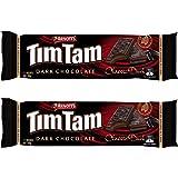 Arnott's Tim Tam | Full Size | Made in Australia | Choose Your Flavor (2 Pack) (Dark Chocolate)