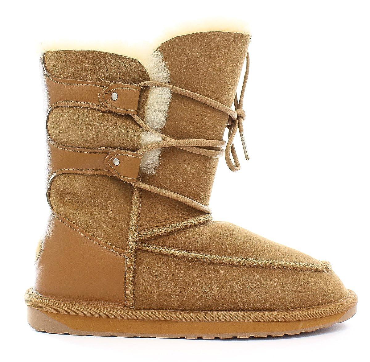 3dcb028a0cf Emu Sheepskin Boots 11263 Delegate Chestnut: Amazon.co.uk: Shoes & Bags
