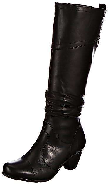 Fashion 001 Noir Femme Eu 36 25505 8 Bottes 29 Jana 4fw0dq0