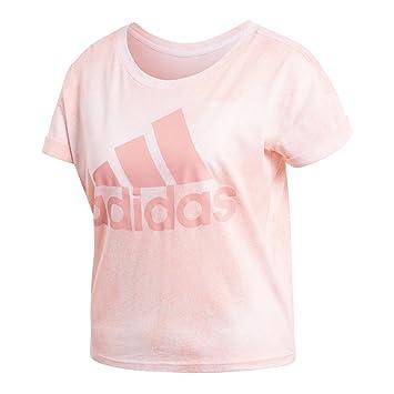 adidas damen t-shirt rosa
