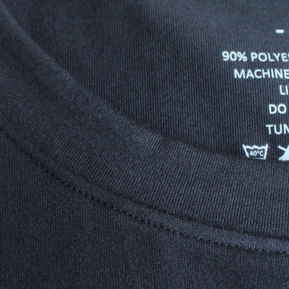 Hombres Apretado Compresi/ón Capa Base Manga Corta Camiseta Culturismo Tops Poli/éster y Spandex