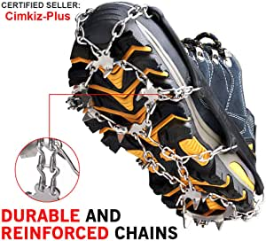 Traction Cleats Ice Snow Grips Crampons Shoes Boots
