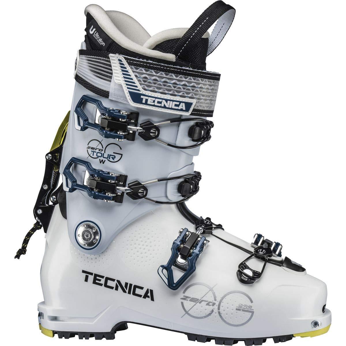 Tecnica Zero G Tour レディース ツーリング スキーブーツ ホワイト/アイス22.5   B07JR965N8