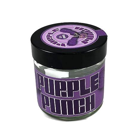 Amazon com: PURPLE PUNCH Glass Jar Strain Labels - Slaps