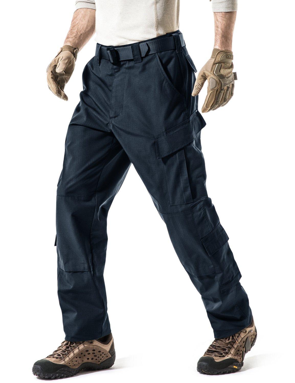 CQR Men\'s ACU/BDU Rip Stop Trouser EDC Tactical Combat Pants UBP01 / UAP01 Tesla Gears