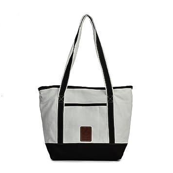 00324de83909 Amazon.com: KEROUSIDEN Ms. Casual Super Capacity Bag Hit Color ...