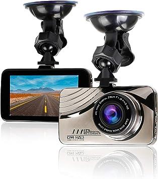 C/ámara de Coche Dash CAM FHD 1080P DVR 3.0 IPS LCD 170/° Gran /Ángulo WDR G-Sensor Grabaci/ón en Bucle Monitor de Aparcamiento Detecci/ón de Movimiento Visi/ón Nocturna