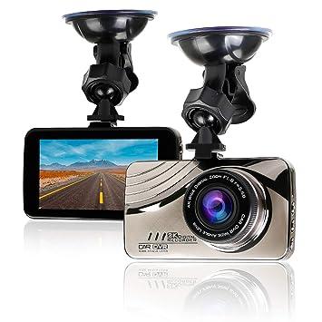 "Cámara de Coche Full HD 1080P Dash Cam 170°Gran Ángulo, Pantalla 3"""