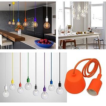 Princeway couleur silicone luminaire suspension style européen moderne ikea lampe pendante lampe plafonnier