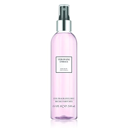 Vera Wang Embrace Body Mist For Women Rose Buds And Vanilla Scent 8 Fluid Oz. Body Mist Spray Romantic, Floral And Warm Fragrance by Vera Wang