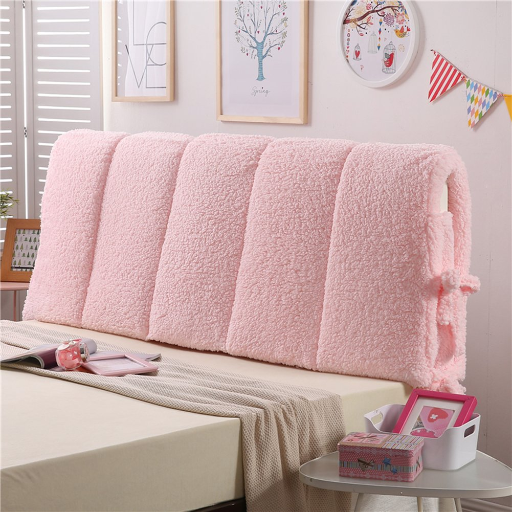 Vercart Sofa Bed Large Wedge Cushion Bed Backrest Positioning Support Pillow Reading Pillow Office Lumbar Pad with Removable Cover 71x24x3 Inches
