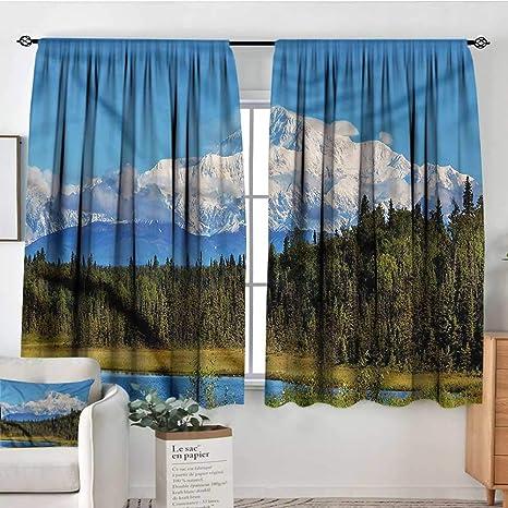 Amazon.com: RenteriaDecor Alaska,Boys Bedroom Backout ...