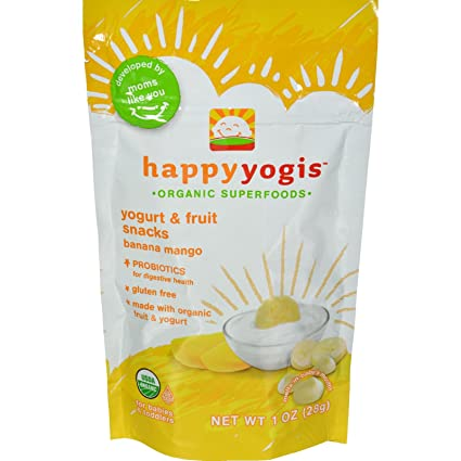 Amazon.com: Happy Baby happymelts orgánico yogur Snacks para ...
