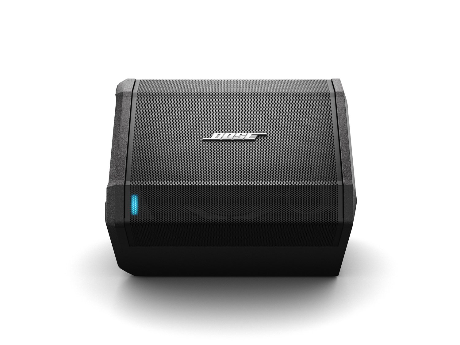 Bose S1 Pro Bluetooth Speaker System w/ Battery, Black - 787930-1120 3 Big sound from a rugged speaker that goes where you do Wireless Bluetooth pairing and inputs for a microphone or musical instrument such as a keyboard or guitar Built-in sensors and multiple aiming positions for optimal sound in any nearly position