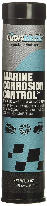 LubriMatic Aqua 11400 Marine Trailer Wheel Bearing and Corrosion Control Grease, 3 oz. Cartridge-4 Pack LubriMatic Green 192-11400