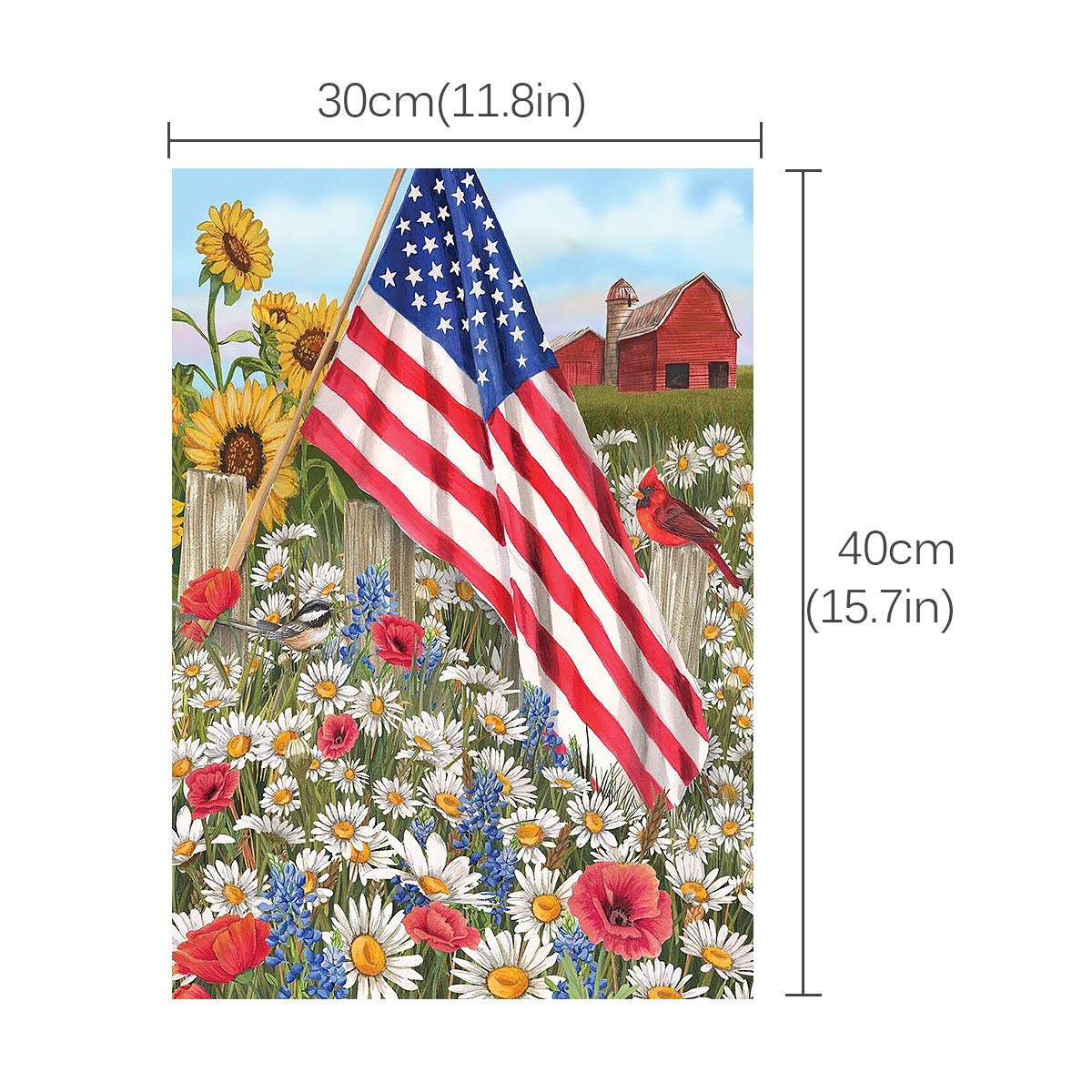 40x30cm 5D DIY Full Drill Diamond Painting Cross Stitch Kits Embroidery Round US
