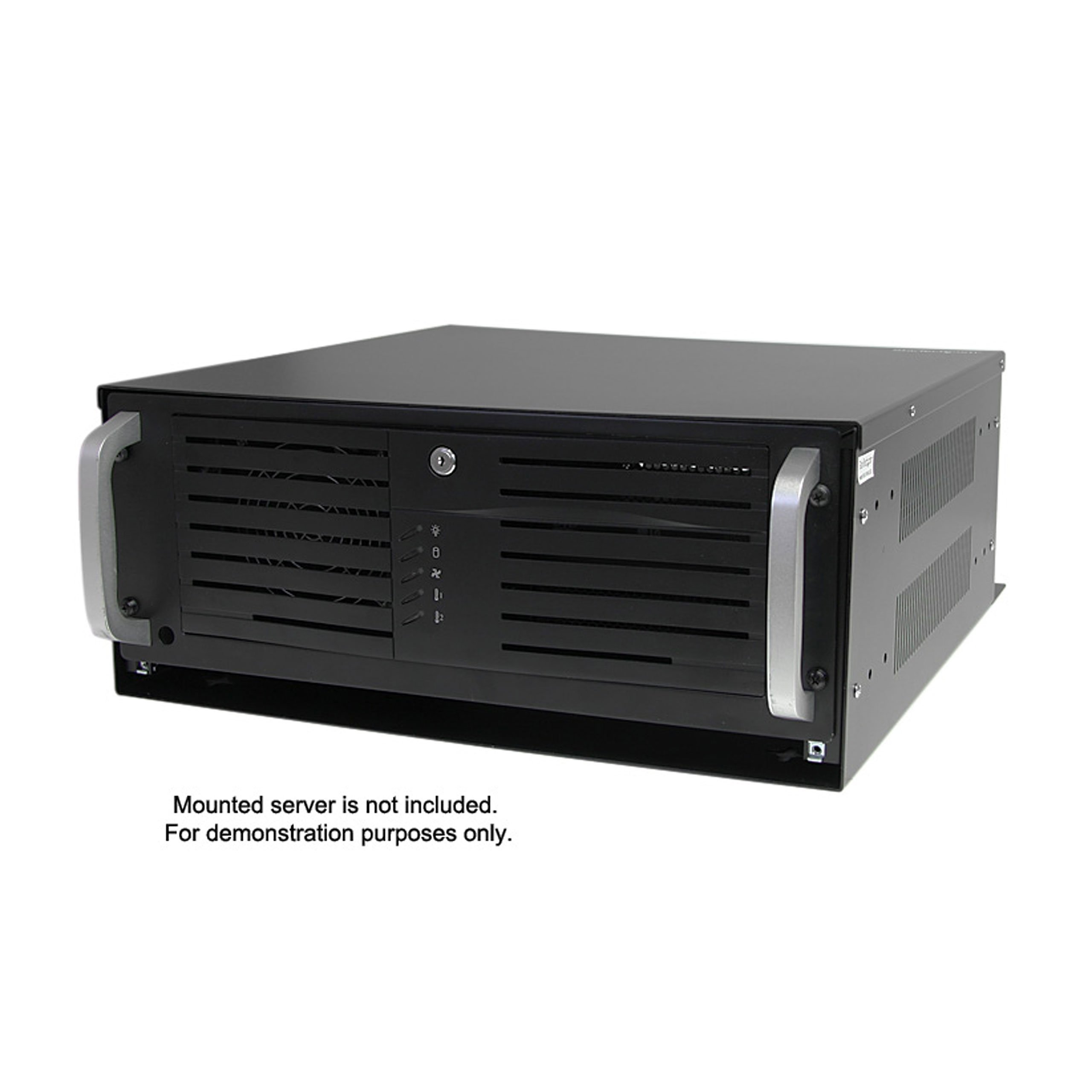 StarTech.com 4U 19-Inch Steel Horizontal Wall Mountable Server Rack RK419WALVO (Black) by StarTech (Image #5)