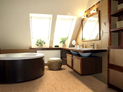 Bathroom Flooring Cork Tiles 1/4