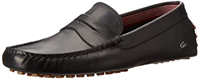 c24a04f222d1ef Lacoste Mens Concours 16 Loafers In Black 8 (Adult)  Amazon.co.uk ...