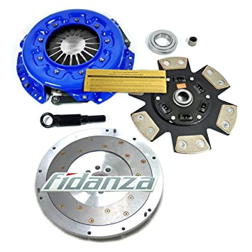 EF etapa 3 Kit de embrague + Fidanza volante para 84 - 89 Nissan 300ZX 3.0L Turbo N/T: Amazon.es: Coche y moto