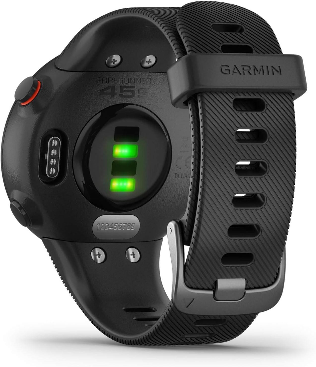 Garmin Forerunner 45S Reloj GPS de Running, Unisex-Adultos, Negro ...