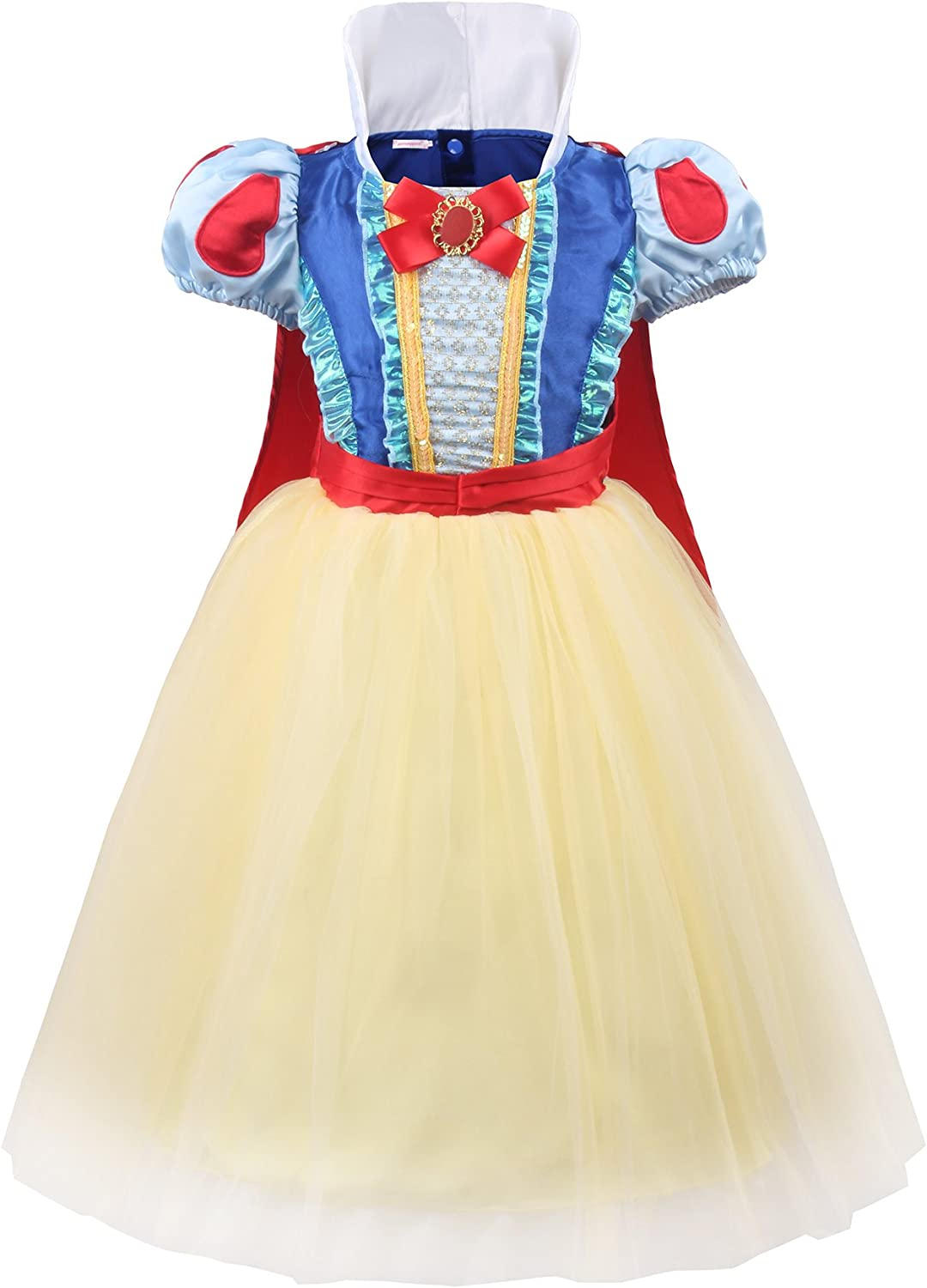 JerrisApparel Princess Dress Up Girls Party Costume Dress