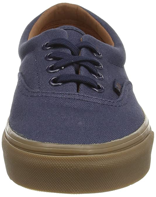 6782f19450d Vans ERA (Gumsole) Blue Nights   Medium Gum Skateboard Shoes-Men 7.0 ...