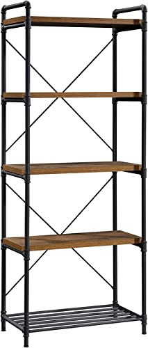 Deal of the week: Sauder Iron City Tall Bookcase