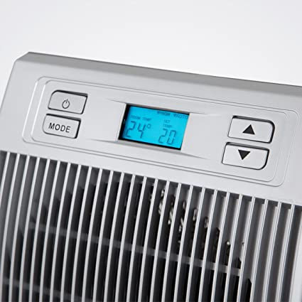 Orbegozo FH 6036 - Calefactor eléctrico con movimiento oscilante, pantalla digital LCD, 2200 W de potencia, 2 niveles de funcionamiento, modo ventilador: ...